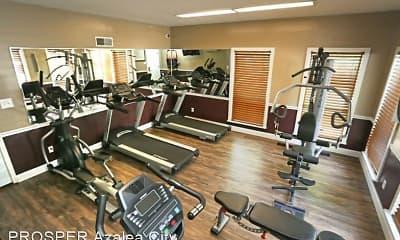 Fitness Weight Room, PROSPER Azalea City, 2