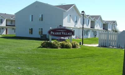 Community Signage, Prairie Village Townhomes, 0