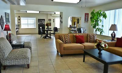 Living Room, Mansions South, 1