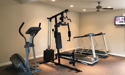 Fitness Weight Room, The Gondolier Apartments, 2