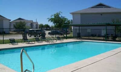 Pool, Country Village Apartments, 0