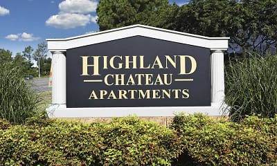 Community Signage, Highland Chateau, 2
