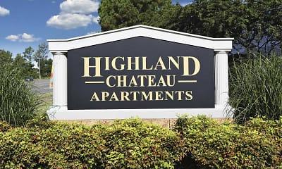 Community Signage, Highland Chateau, 2