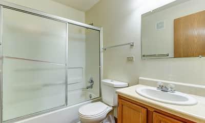 Bathroom, Cross Creek Apartments, 2
