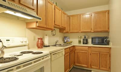 Kitchen, Lindham Court, 0