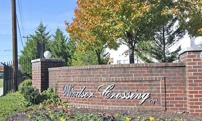 Community Signage, Windsor Crossing, 2