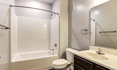 Bathroom, Assembly Apartments, 2