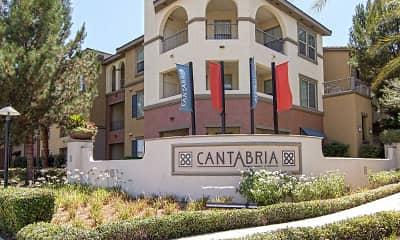 Community Signage, Cantabria Apartments, 2