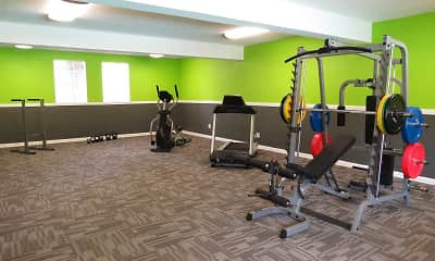 Fitness Weight Room, Meridian Estates, 1