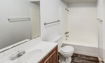 Bathroom, Fairmont Apartments, 2