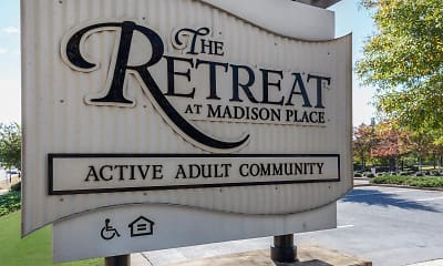 Community Signage, The Retreat at Madison Place, 0