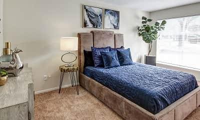Bedroom, Villas del Tesoro Apartments, 1