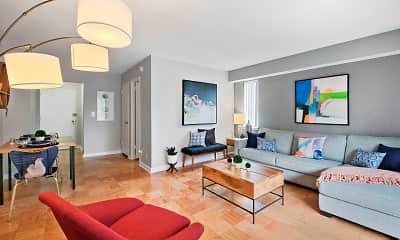 Living Room, Capitol Park Plaza & Twins, 0