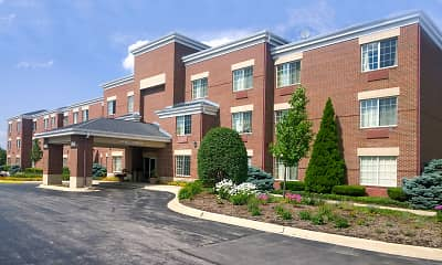 Building, Furnished Studio - Chicago - Westmont - Oak Brook, 1