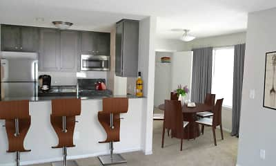 Kitchen, Devonshire Apartments, 0