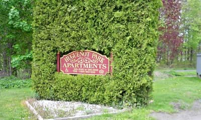 Community Signage, Huguenot Park, 1