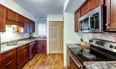 Kitchen, Victoria Townhomes, 1