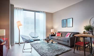 Living Room, 500 Lake Shore Drive, 2