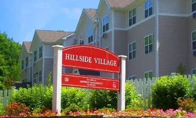 Community Signage, Hillside Village Apartments, 1