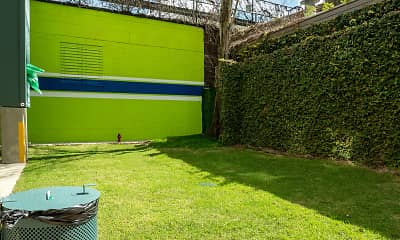 yard featuring an expansive lawn, 1643 Josephine, 2
