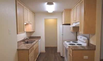 Kitchen, Park Place Apartments, 0