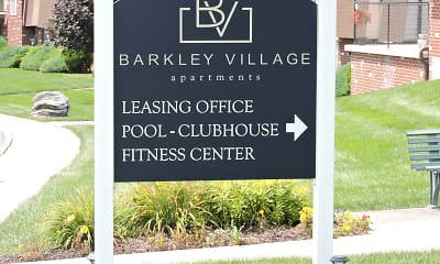 Community Signage, Barkley Village, 1