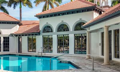 Pool, Promenade at Aventura Apartments, 0