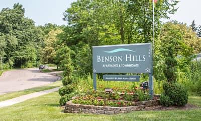 Community Signage, Benson Hills Apartments, 2