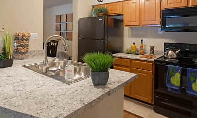 Kitchen, Highland Oaks, 1