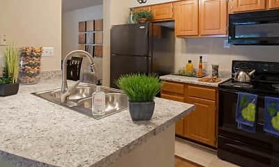 Kitchen, Highland Oaks, 1
