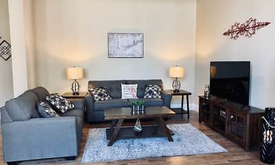 Living Room, Moore Mill Lofts, 2