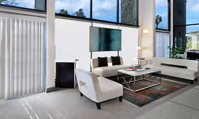 Living Room, Vicino Apartment Homes, 2