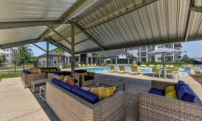 Pool, Forest Pines Apartments, 1