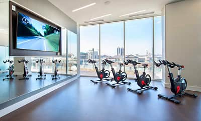 Fitness Weight Room, 360 Market Square, 2