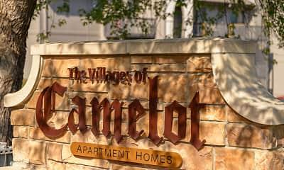 Community Signage, Camelot Village Apartments, 0