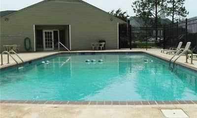 Pool, Cedar Creek Apartments, 1