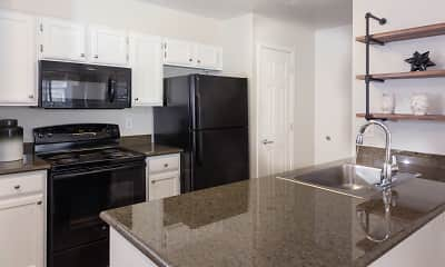 Kitchen, Elevate on 5th Apartments!, 2