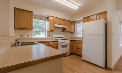Kitchen, Glenview Village Apartments, 1