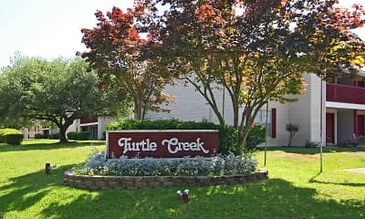 Community Signage, Turtle Creek, 2