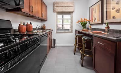 Kitchen, Lindcrest Apartments, 1
