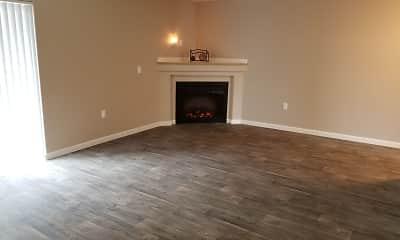 Living Room, Evergreen Village, 1