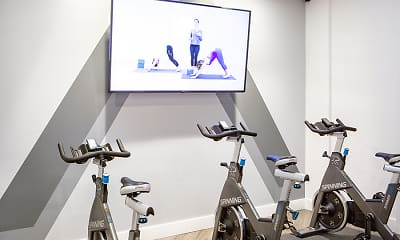 Fitness Weight Room, AdMo Heights, 2