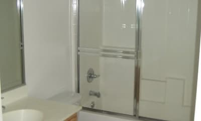 Bathroom, Hillview Apartments, 2