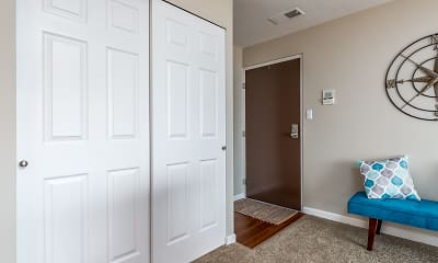 Foyer, Entryway, Miamiview Apartments, 1