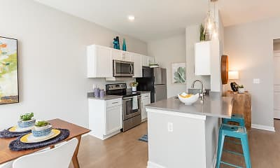 Kitchen, Morgan Woodland Acres Townhomes, 0