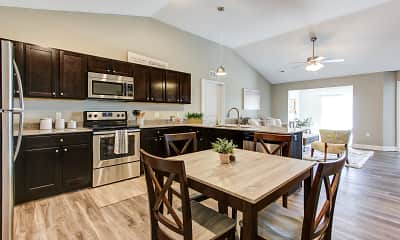 Kitchen, The Colony at Waterville Landing, 0