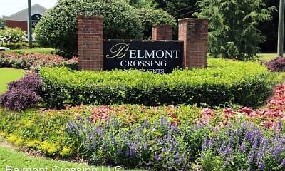 Community Signage, Belmont Crossing, 2