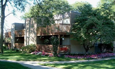Building, River Drive Apartments, 0