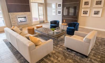 Living Room, Skye at Arbor Lakes Apartments, 1
