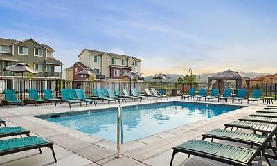 Pool, Blue Oak Apartments, 2